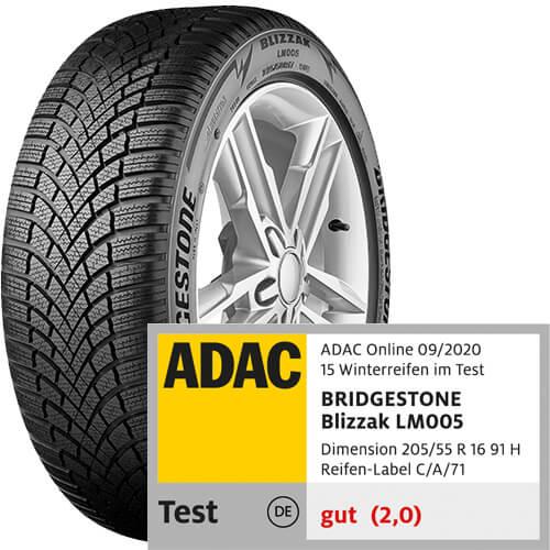 Bridgestone Blizzak LM005 Test