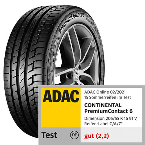 Continental Premium Contact 6 Test