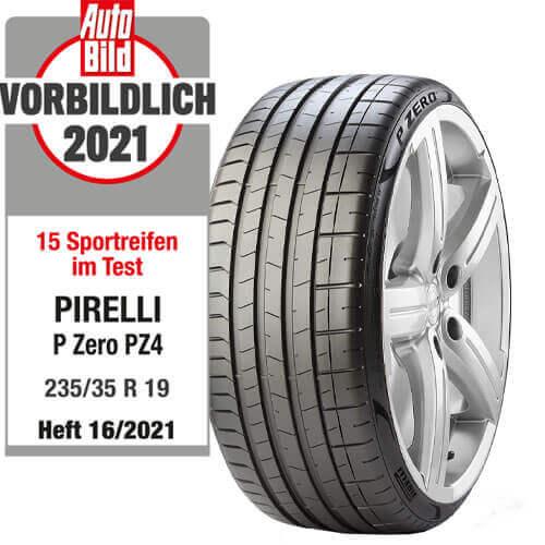 Pirelli P Zero PZ4 Testbericht